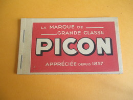 PICON/ Petit Bloc Note De Bar/ La Marque De Grande Classe/ Pikina / PEC45 / Sirven/  Vers 1930-1950              OEN11 - Alcoholes
