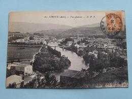 Vue Générale ( D.F.P. - 105 ) Anno 1929 ( Voir Photo ) ! - Limoux