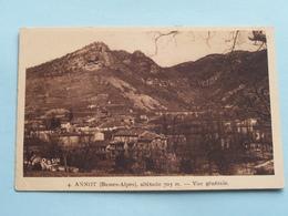 ANNOT Vue Générale Altitude 705 M. ( 4 - Rosin ) Anno 19?? ( Voir Photo ) ! - Castellane