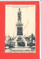 80 DOINGT FLAMICOURT Cpa Monument Aux Morts          Photo Souillard - France