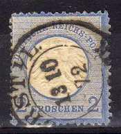 Deutsches Reich, 1872, Mi 5, Gestempelt [271216StkKV] - Oblitérés