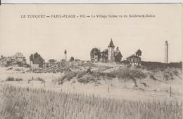 D62 - LE TOUQUET PARIS-PLAGE - LE VILLAGE SUISSE VU DU BOULEVARD DALLOZ - Le Touquet