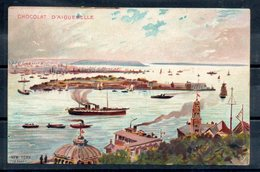 états Unis. New York. Carte Illustrée Chocolat D'aiguebelle - Ellis Island
