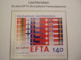 LIECHTENSTEIN  2010 EFTA     MNH **.  (0541-100) - European Ideas