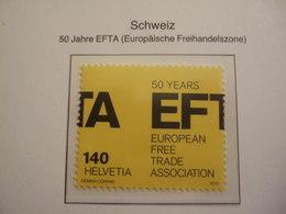 SWITZERLAND  2010 EFTA     MNH **.  (0541-100) - Idées Européennes
