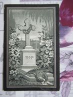 BIDPRENTJE LODEWIJK ROOMS (X DOOMS ) BRUGGE BLANKENBERGE 1846 - 1906 - Religion & Esotérisme