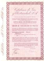 ACCION ANTIGUA - ACTION ANTIQUE = CATALANA DE GAS 1975 - Acciones & Títulos