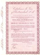 ACCION ANTIGUA - ACTION ANTIQUE = CATALANA DE GAS 1975 - Sin Clasificación
