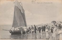 80 - AULT - Départ Pour La Promeade En Mer - Ault
