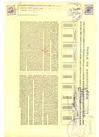 ACCION ANTIGUA - ACTION ANTIQUE = Tabla Amortizacion Cia. Gral. De Ferrocarriles Catalanes 1939 - Acciones & Títulos