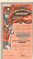 ACCION ANTIGUA - ACTION ANTIQUE =  IBERDUERO 1959 - Acciones & Títulos