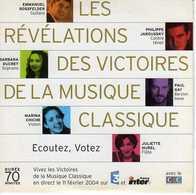LES REVELATIONS DES VICTOIRES DE LA MUSIQUE CLASSIQUE - Classical