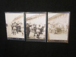 Photos Du Prince De Galles Edouard VIII, Italie, Mai 1918, Terrain D'Aviation De Nove-di-Bassano (Vénétie), WW1. - 1914-18