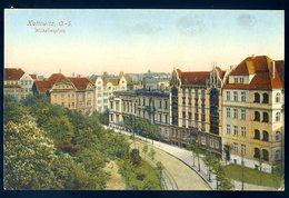 Cpa De Pologne Kattowitz , O.-S. Wilhelmsplatz (1)  ............  Katowice Katowicy     MARS18-01 - Polen