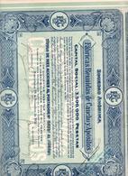 ACCION ANTIGUA - ACTION ANTIQUE = FABRICAS REUNIDAS DE CAUCHO Y APOSITOS 1931 - Acciones & Títulos