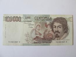 Italy 100000 Lire 1983 Banknote - [ 2] 1946-… : Républic