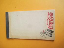 Coca Cola/Petit Bloc Note De Bar / Buvez Coca-Cola  Marque Déposée  /  Vers 1930-1950            VPN141 - Coca-Cola