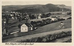 AK Niederschlema Schlema Erzgebirge Floßgraben A Aue Lößnitz Hartenstein Griesbach Zschorlau Bockau Albernau Schneeberg - Schlema