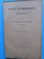 22 Faune Entomologique Armoricaine Rennes 1909 Coléoptères Carabides T1 3è Partie - Wetenschap