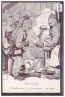 ARMEE SUISSE - HUMOUR - PAR MINOUVIS - RETOUR - TB - Other