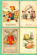 Beau Lot De 40 CPSM Fantaisie PAQUES / Mooi Lot 40 Postkaarten Fantasie PASEN - Cartes Postales