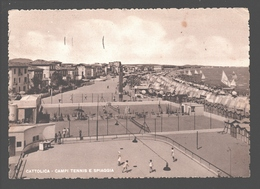 Cattolica - Campi Tennis E Spiaggia - Italie