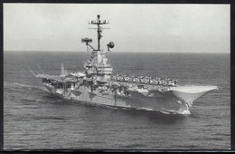 "US Navy, USS""KEARSAGE"" (CV-33) Naval Historys Postcard Unwritten, Look Scan, RARE !! 16.3-26 - Bateaux"