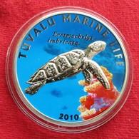 Tuvalu 1 $ 2010 Turtle - Tuvalu