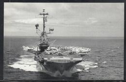 "US Navy, USS""ORINSKANY"" (CVA-34) Naval Historys Postcard Unwritten, Look Scan, RARE !! 16.3-25 - Bateaux"