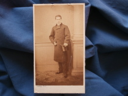 Photo CDV Daveluy à Bruges - Edouard Peers (1841-1919 Bourgmestre De Waerdamme) Circa 1865 L364 - Fotos