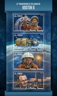 Sierra Leone. 2018 Launch Of Vostok 6. (106a) - Africa