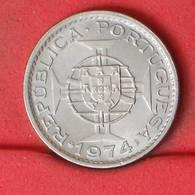 ANGOLA 2,5 ESCUDOS 1974 -    KM# 77 - (Nº21273) - Portugal