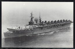 "US Navy, USS""WRIGHT"" (CVL-49) Naval Historys Postcard Unwritten, Look Scan, RARE !! 16.3-22 - Bateaux"