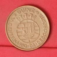 GUINÉ 1 ESCUDOS 1946 -    KM# 7 - (Nº21278) - Portugal