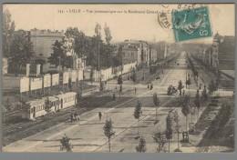 CPA 59 - Lille - Vue Panoramique Sur Le Boulevard Carnot - Lille