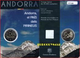 ANDORRA - 2 € 2017 BU - LAND VAN DE PYRENEEEN - Andorra