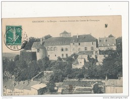 52 CHAUMONT LE DONJON ANCIENNE DEMEURE DES COMTES DE CHAMPAGNE CPA BON ETAT - Chaumont