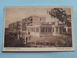 "Sanatorium "" FRANCLET "" Cambo-les-Bains ( Cambo's Studio ) Anno 19?? ( Voir Photo ) ! - Cambo-les-Bains"