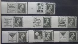 BELGIE Reclamezegels  1938     PU 99 - 120     Postfris **    CW 215,00 - Publicités