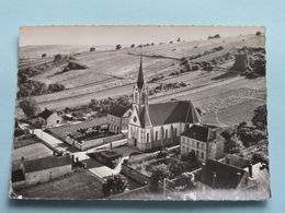 CHAMPVALLON En Avion Au-dessus De .... L'Eglise Et Les Ecoles ( LAPIE ) Anno 1962 ( Voir Photo ) ! - Auxerre