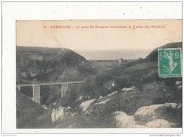 50 CAROLLES LE PONT DU CRAPEUX TRAVERSANT LE VALLEE DES PEINTRES CPA BON ETAT - France