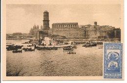 L74A502 - Marseille - N-D De La Garde - Fêtes Du Couronnement Juin 1931 - Flotille Mariale - Ed. Basilique - Notre-Dame De La Garde, Lift