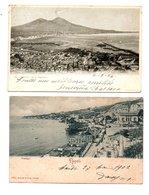 "ITALIE . NAPOLI . "" POSILIPPO "" & "" S. MARTINO "" . 2 CARTES POSTALES - Réf. N°8338 - - Napoli"