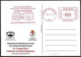 Italia/Italy/Italie: Ema, Meter, Specimen, Corpo Dei Vigili Del Fuoco, Fire Brigade Corps, Corps De Brigade De Pompiers - Pompieri