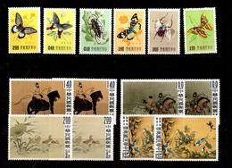 Taiwan YT N° 249/254 Et 327/330 (2) Neufs ** MNH. TB. A Saisir! - 1945-... République De Chine