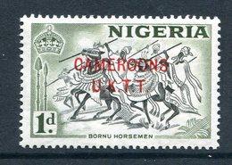 Cameroon - Nigeria Pictorials Overprints - 1d Bornu Horsemen MNH (SG T2) - Cameroon (1960-...)