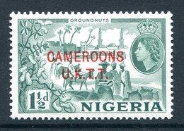 Cameroon - Nigeria Pictorials Overprints - 1½d Groundnuts LHM (SG T3) - Cameroon (1960-...)