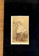 Photographie CdV : Enfant C.1860-70  Photographe C BRION 73 Rue St Ferreol  Marseille - Foto