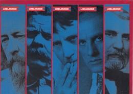 5 Marque Page.   Lire La Russie.   Bookmark. - Bladwijzers