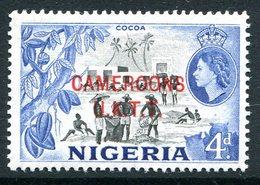 Cameroon - Nigeria Pictorials Overprints - 4d Cocoa MNH (SG T6) - Cameroon (1960-...)
